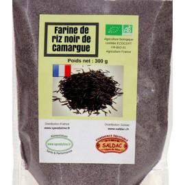 Farine de riz noir de Camargue Bio - 300 grs