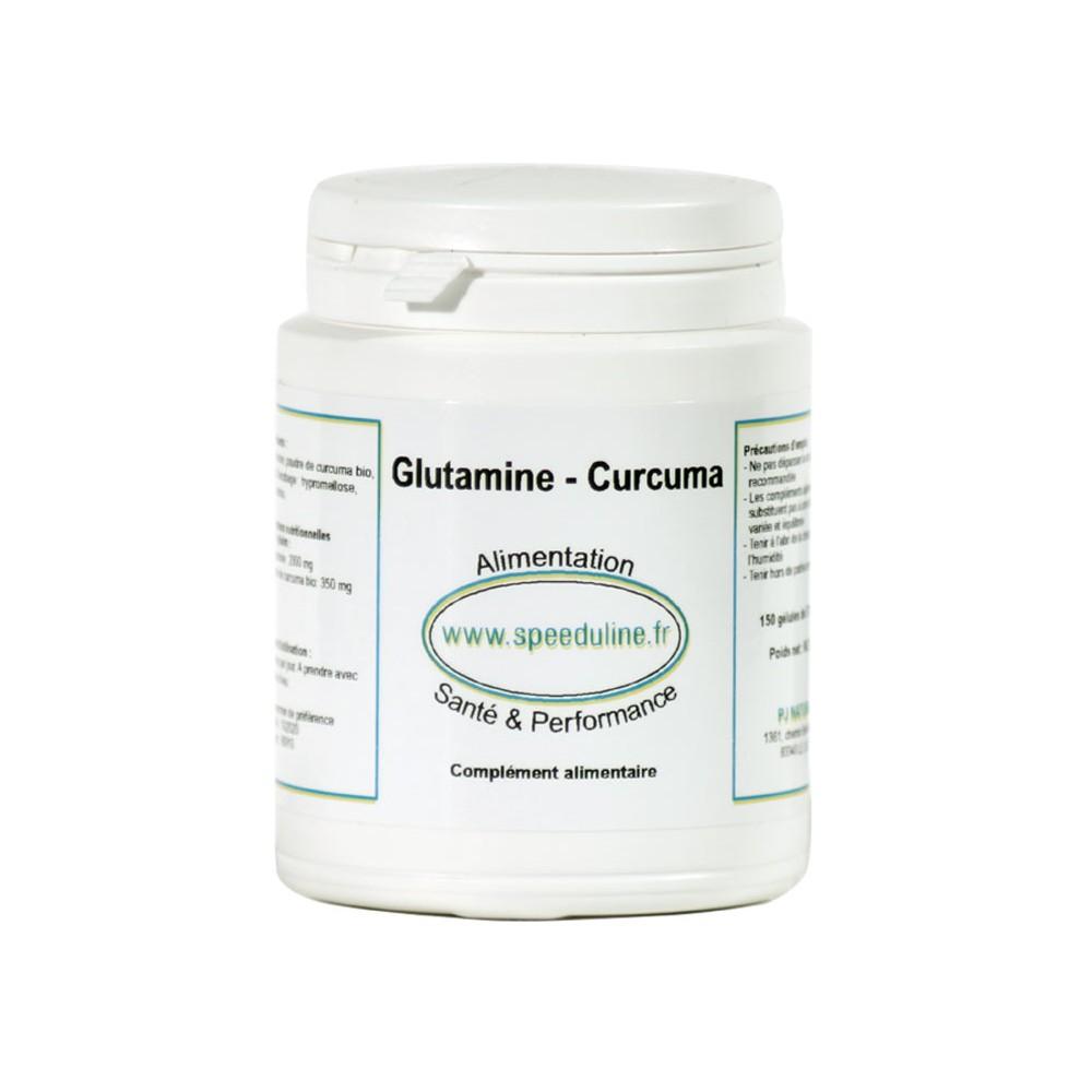 Glutamine Curcuma - 150 gélules