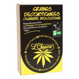 Graine de chanvre décortiquées Bio - 250g