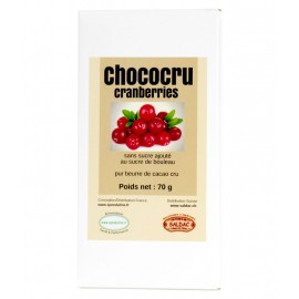chococru Noir Cranberries