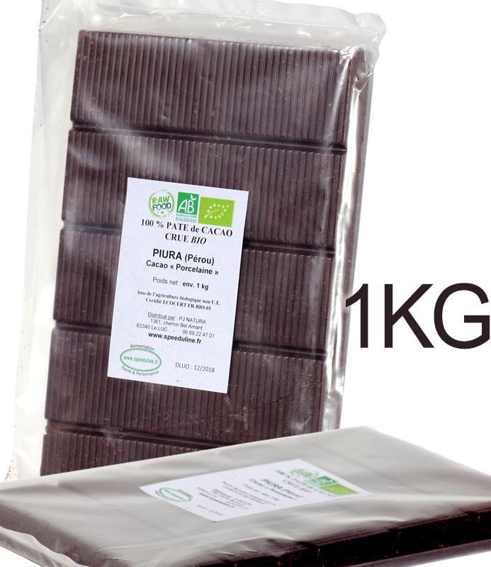Bloc Pâte de cacao 100%